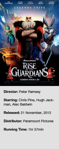 Rise Of The Guardians 2012 The Critical Reel