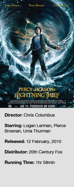 Percy Jackson The Olympians The Lightning Thief 2010 The Critical Reel