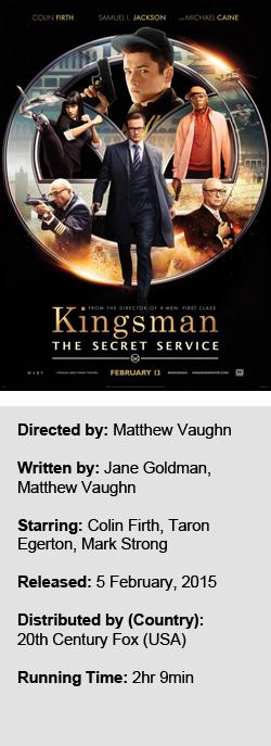 Kingsman The Secret Service 2015 The Critical Reel